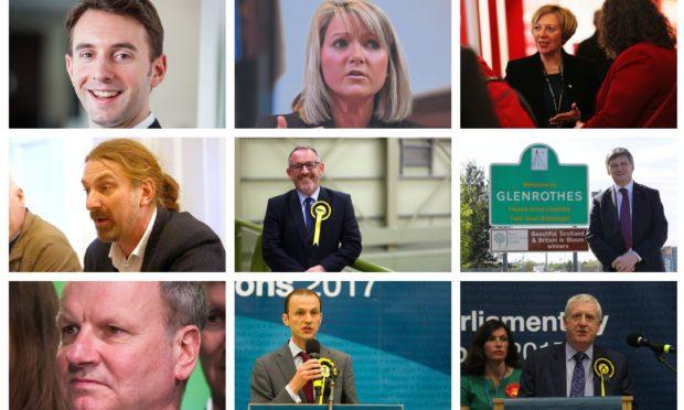 Local MPs: Luke Graham, Kirstene Hair, Lesley Laird, Chris Law, Stewart Hosie, Peter Grant, Pete Wishart, Stephen Gethins and Douglas Chapman.