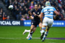 Scotland prop Allan Dell is back in the Edinburgh side to face Newcastle.