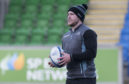 Stuart Hogg is back in training with the Glasgow Warriors ahead of the crucial Heineken Champion's Cup clash with Lyon.