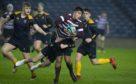 Watson's Brayden Lynes take on Dundee's Hamish Findlay in the U-16 final.