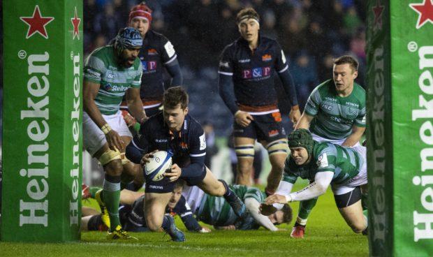 Bonus point win takes Edinburgh to top of European Champions Cup pool