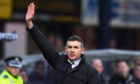 Dundee manager Jim McIntyre at full time.