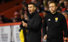 Jim McIntyre shouts instructions to his players.