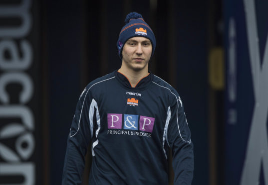 Jamie Ritchie returns to the Edinburgh team for the 1872 Cup second leg.