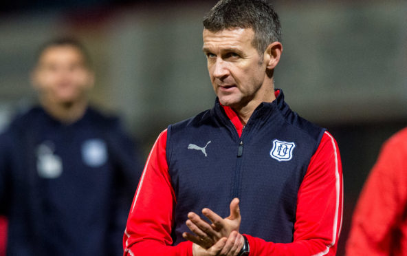 Dundee manager Jim McIntyre.