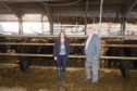 Prof Julie Fitzpatrick and SRUC chief Wayne Powell formed a partnership to unite the skills of the organisations.