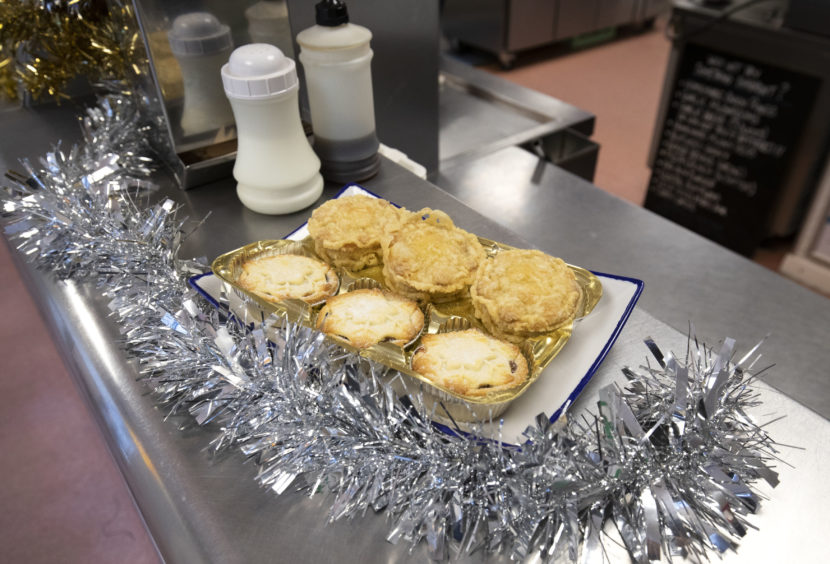 Deep-fried mince pies are on the menu this festive season.