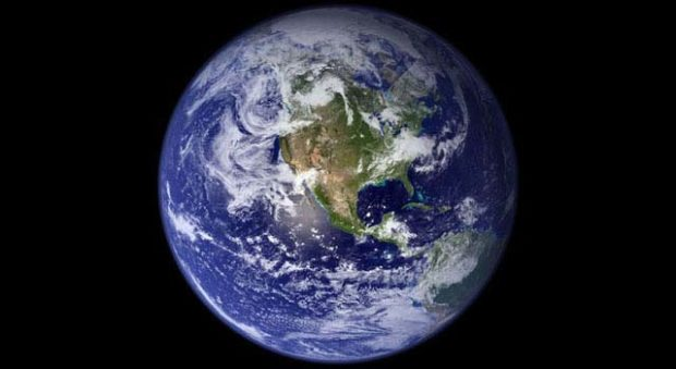 The fragility of the Earth as seen from space
