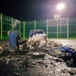 Investigations under way after fire vandalism at new £70,000 games area in Broughty Ferry