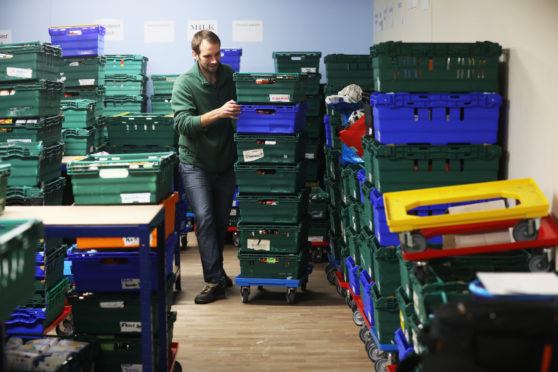 Dundee Foodbank Operators Left Speechless After Record