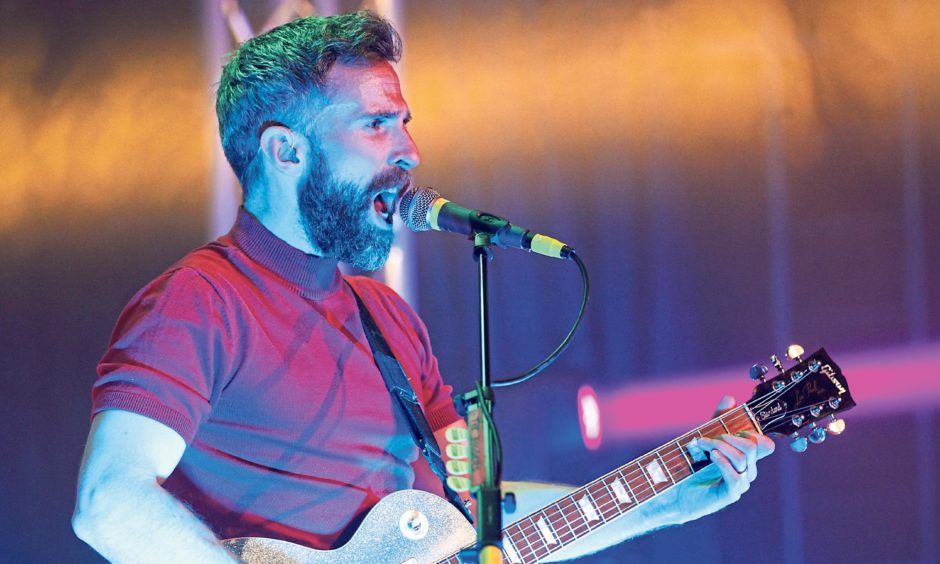 The Hoosiers kicked off Montrose Music Festival. Mhairi Edwards/DCT Media