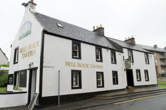 The Bell Rock Tavern in Tayport.