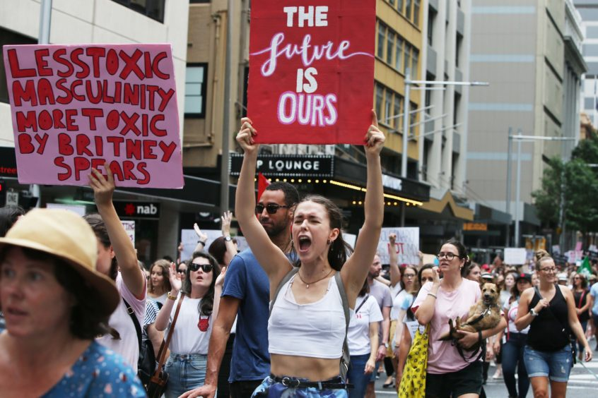 The third annual global Women's March event, #womenswave aims to draw attention to issues of domestic violence against women in Australia and drive cultural change.