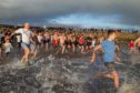 The race to water at the 25th Carnoustie Dook.