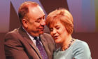 Alex Salmond and Nicola Sturgeon in days gone by.