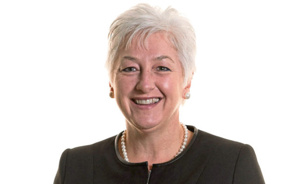Carol Anderson, Dundee-based Scotland Distribution Director for TSB