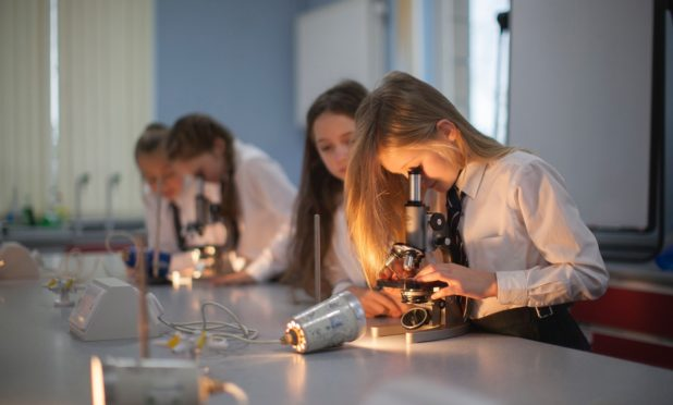 Science lessons at Morrison's Academy