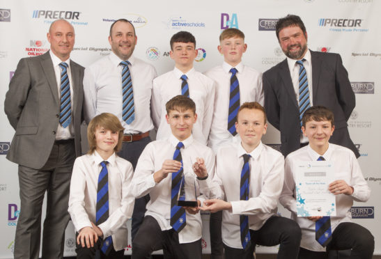 Forfar Boys FC 2004's scooped the 2017 team of the year accolade at last year's event.