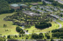 23/07/2004. An aerial view of the Aviva Pitheavlis site in Perth which the insurance giants have today  31st May2013 announced that they are to purchase showing a longe term commitment to Perth.  Picture by Graeme Hart.  Copyright Perthshire Picture Agency  Tel: 01738 623350  Mobile: 07990 594431