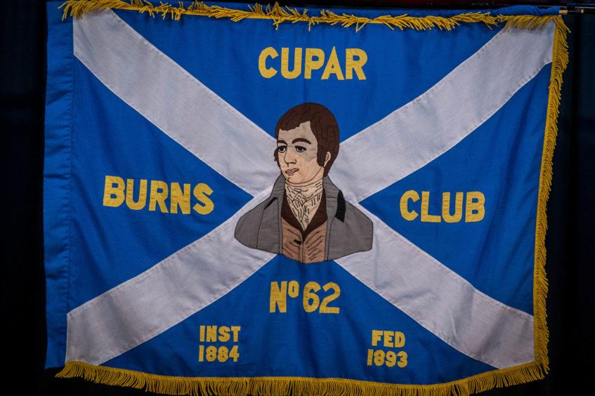 The Cupar Burns Club held their annual Burns' supper in the Corn Exchange Cupar.