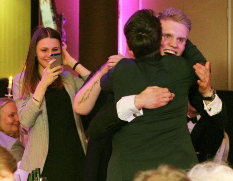 Lewis Pickett, 2018's winner of the New Talent/Rising Star award..
