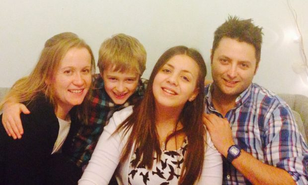 The Morrison family.
