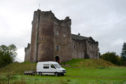 Doune Castle has featured in the hit TV series, Outlander.