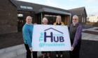 The new Friockheim Community Hub.
