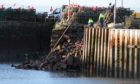 The ballast quay wall collapsed at the beginning of the year