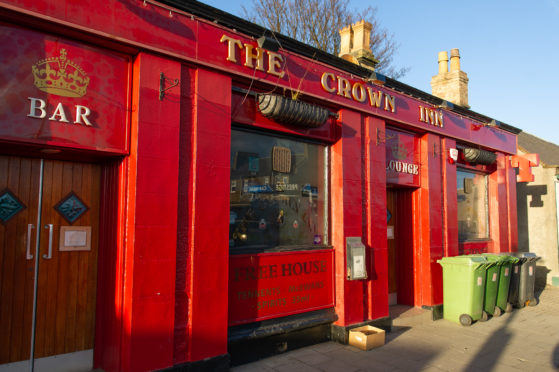 The Crown Inn, which closed this week.