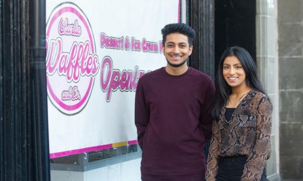 Kassam Kassam and his sister Mariam.