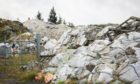 the dump contains around 7,000 tonnes of rubbish