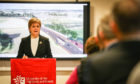 Nicola Sturgeon unveils a £50m side pot for the Tay Cities Deal.