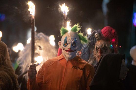 The Newburgh Oddfellows parade. (Photo: Kenny Smith)