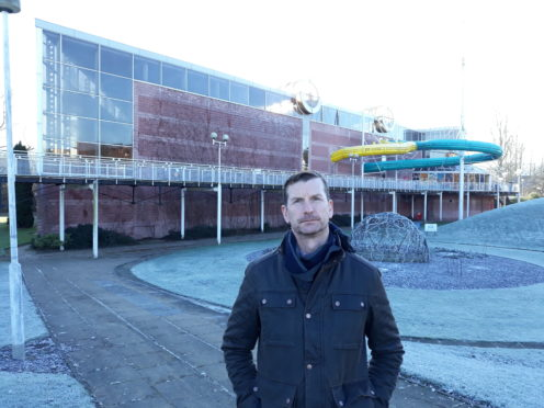 Perth and Kinross Council's SNP group leader Dave Doogan wants to see Perth Leisure Pool renovated.