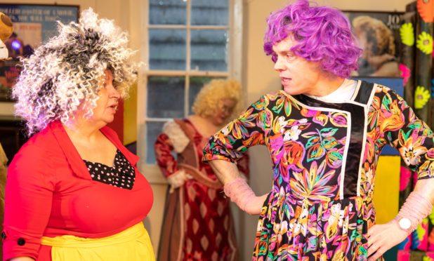 Perth Drama Club prepares their late season panto.