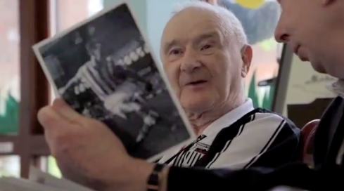 Reminiscing about sporting moments has been proven to help those with dementia.