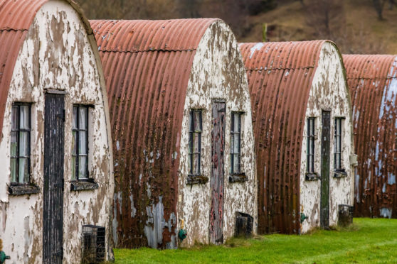 Cultybraggan Camp near Comrie.