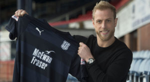 Andrew Davies reveals he seized chance to return north to help Dundee escape relegation