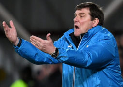 St Johnstone boss Tommy Wright is looking up