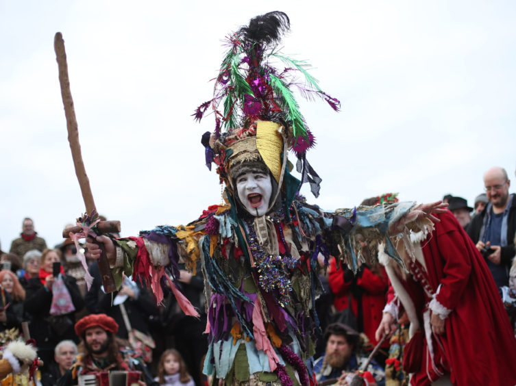 Performances often involve local artists &  community groups making costumes, banners and props, often using recycled or unwanted materials.  The company has strong links with storytellers, musicians, dancers, street performers, re-enactors,  costume-makers, conservation groups & food producers.