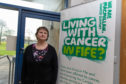 Valerie Ireland from Methil was supported by the new service.