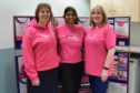 Dr Wendy McMullen, Dr Kalpana Ragupathy and   McMillan clinical nurse specialist/colposcopist Elaine Coupar.