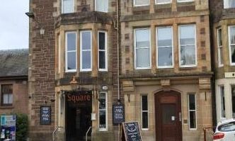The Square bar and kitchen, Crieff.