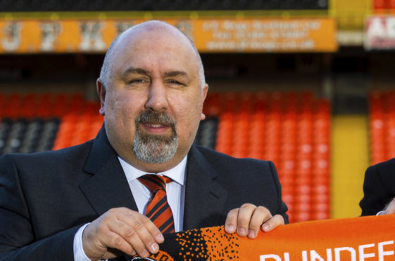 Dundee United Sporting Director Tony Asghar.