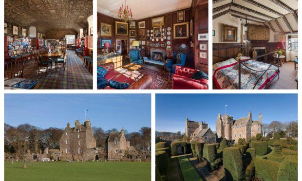 The stunning Earlshall Castle.