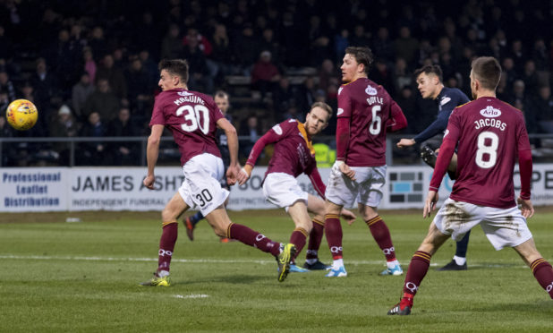 Jesse Curran's equaliser for Dundee.
