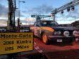The 1972 Fiat of Angus driver John Roberts on the start ramp in the shadow of the Titan Crane