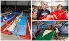 Equipment at Balwearie Gymnastics was destroyed.