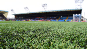 The Rugby Park artificial surface.